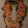 Dio Sacred Heart shape patch