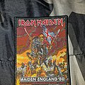Iron Maiden - Patch - Iron maiden england 88 patch