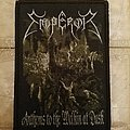 Emperor anthems official woven patch