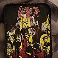 Slayer reign in blood vintage patch printed