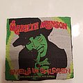 Marilyn manson smells like children vintage patch no borders