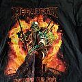 Megadeth Dystopia 2017 tour shirt