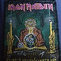 Iron Maiden - Patch - Iron maiden the clairvoyant/seventh son vintage patch