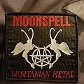 Moonspell - Patch - Moonspell metal patch