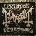 The true mayhem - official logo patch