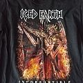Iced Earth Incorruptible Tour shirt