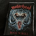 Motörhead - Patch - Motörhead rock n roll patch