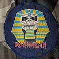 Iron Maiden - Patch - Iron maiden powerslave vintage circle patch