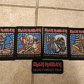 Iron Maiden - Patch - Iron Maiden - legacy of the beast tour patches
