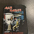 Iron Maiden - Patch - Iron Maiden - 2 minutes to midnight printed official vintage patch