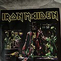 Iron Maiden - Patch - Iron Maiden - Stranger in a strange land - bootleg printed BP