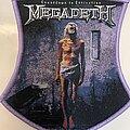 Megadeth - Patch - Megadeth - Countdown to Extinction Patch purple border
