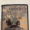 Iced Earth - Patch - Iced earth - something wicked this way comes vintage official patch