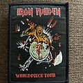 Iron Maiden - Patch - Iron Maiden - world piece tour patch