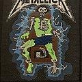 Metallica - Patch - Metallica - electric chair patch