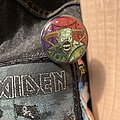 Iron Maiden - Pin / Badge - Iron Maiden legacy of the beast tour blinkie pin