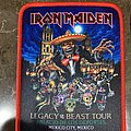 Iron Maiden - Patch - Iron Maiden - Legacy of the Beast Mexico Tour Patch