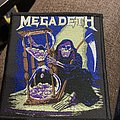 Megadeth - Patch - Megadeth countdown to extinction reaper patch