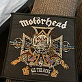 Motörhead - Patch - Motörhead all the aces patch