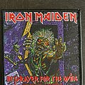 Iron Maiden - Patch - Iron Maiden - No prayer for the dying patch 2020