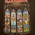 Iron Maiden - TShirt or Longsleeve - Iron Maiden - legacy of the beast tour shirt stained glass