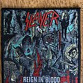 Slayer - Patch - Slayer - Reign in Blood 2020 Official Patch