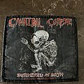 Cannibal Corpse - Patch - Cannibal Corpse - butchered at birth patch
