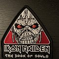 Iron Maiden - Patch - Iron Maiden - book of souls official embroidered patch