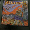 Megadeth - Patch - Megadeth - Peace Sells 2020 patch