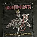 Iron Maiden - Pin / Badge - Iron Maiden seventh son vintage patch