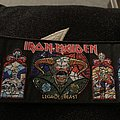 Iron Maiden - Patch - Iron Maiden legacy of the beast bootleg strip woven patch