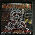 Iron Maiden - Patch - Iron Maiden a real dead one vintage patch