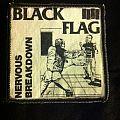"Black Flag ""Nervous Breakdown"" patch"