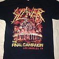 Slayer Final Campaign TShirt or Longsleeve