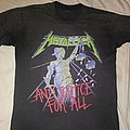 Metallica ...And Justice for All tour shirt 30 years old!