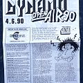 Death Angel - Other Collectable - DYNAMO OPEN AIR 1990 Death Angel, Mordred, Sacred Reich, Sepultura, Trouble,...