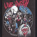 slayer live undead printed patch