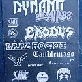 DYNAMO OPEN AIR 1988 Exodus, Laaz Rockit, Candlemass, Toxik, Sabbat, Paradox