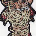 """Metallica """"one"""" shaped limited edition missprinted patch"""