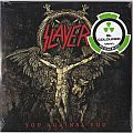 "Slayer ‎– You Against You  Nuclear Blast ‎– NB 3775-1 Vinyl, 7"", 45 RPM, Single, Limited Edition, Bi-Coloured Black/Gold"
