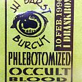 Phlebotomised - Other Collectable - concert ticket/pictures  Phlebotomised ,  occult ( children of bodem) , Blood ,...