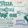 Bolt Thrower - Other Collectable - concert ticket