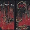 slayer hell awaits woven patch 2016 limited edition