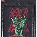 slayer rooth of all evil reproduced woven patch 2007