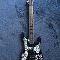 "slayer  ★ Jeff Hanneman  ""Raiders"" ESP LTD JH-600 mini guitar  ★  Other Collectable"