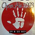 DYNAMO OPEN AIR 1993 Annihilator, Anthrax, Biohazard, Fear Factory, Freak of Nature, Fudge Tunnel, Gorefest, Kong, Mercyful Fate, Mindfunk, Monster Magnet, Nocturnal Rites, Nudeswirl, Suicidal Tendencies, Temple of the Absurd, Trouble, Wool, Dweezil Zappa