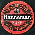 slayer jeff hanneman tribute patch 2015 : copy of the woven bootleg from ireland 2014