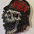 slayer slaytanic wehrmacht metal  pin 2015 Pin / Badge
