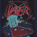 slayer reign in pain patch wit blue  rim  :limited edition