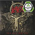 "Slayer ‎– You Against You  Nuclear Blast ‎– NB 3775-1  Vinyl, 7"", 45 RPM, Single, Limited Edition, Splatter Red with White"